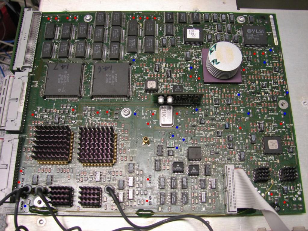 Tektronix TDS 520 repair 1